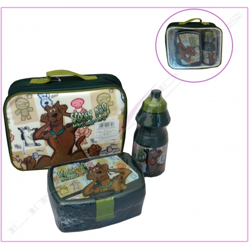 Scooby Doo 'Where Are You!' School Lunch Bag Kit