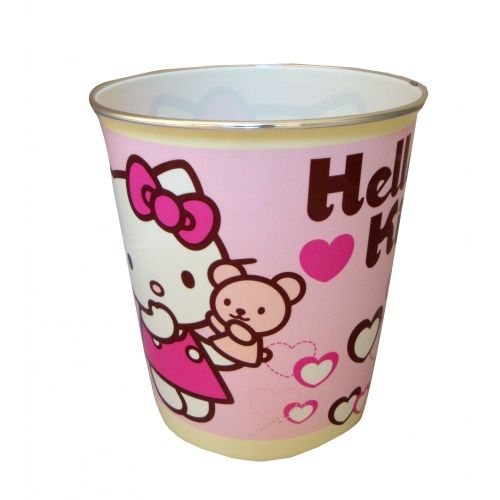 Hello Kitty 'Hearts' Waste Bin