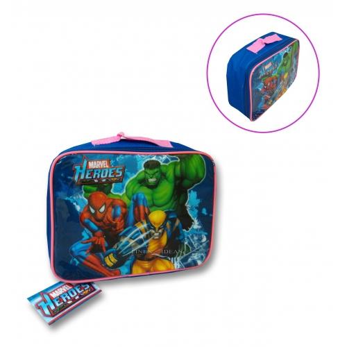 Marvel Super Heroes School Rectangle Lunch Bag