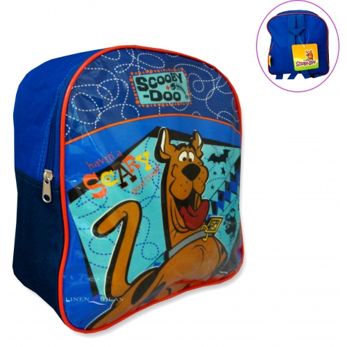 Scooby Doo 'Havin' a Scary Good Time' Pvc Front School Bag Rucksack Backpack
