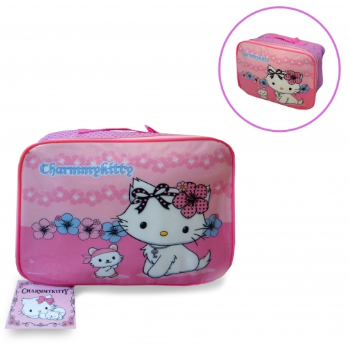 Charmmy Kitty Pink School Rectangle Lunch Bag
