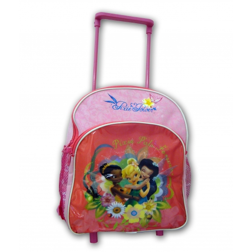 Disney Fairies 'Pixie Forever' Junior Deluxe School Travel Trolley Roller Wheeled Bag