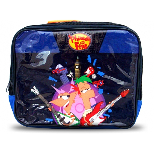 Phineas and Ferb School Rectangle Lunch Bag