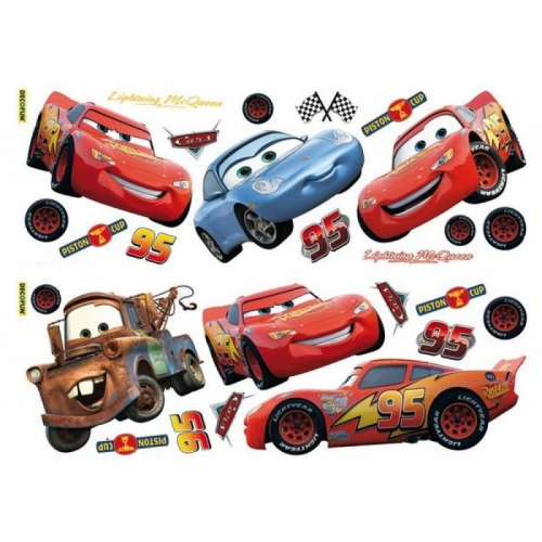 Disney Cars Wall Sticker Decoration
