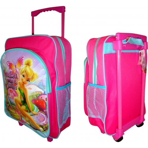Disney Fairies 'Sweeten with a Smile' School Travel Trolley Roller Wheeled Bag