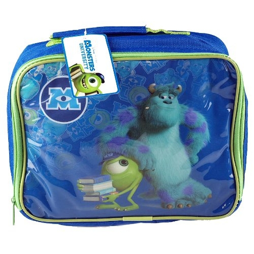 Disney Monster University Inc Pvc Front School Rectangle Lunch Bag