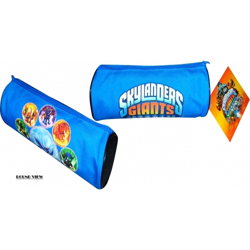 Skylanders Giants Blue Pencil Case Stationery