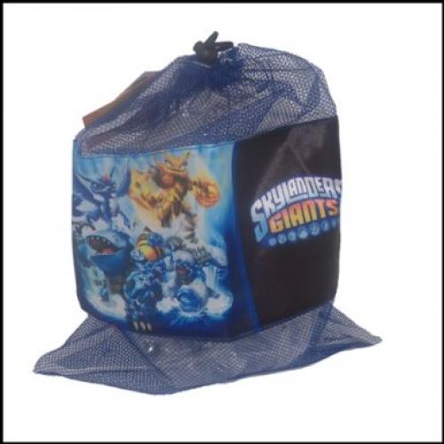 Skylanders 'Giants' Pull String School Mesh Bag