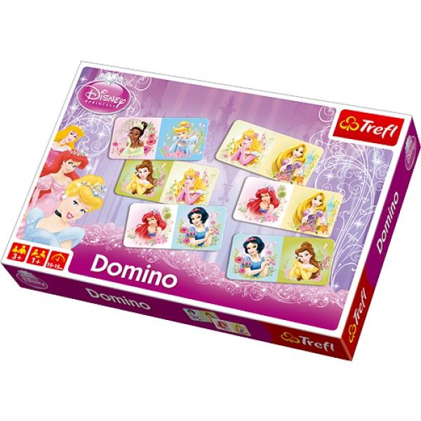 Disney Trefl Princess Domino Board Game Puzzle