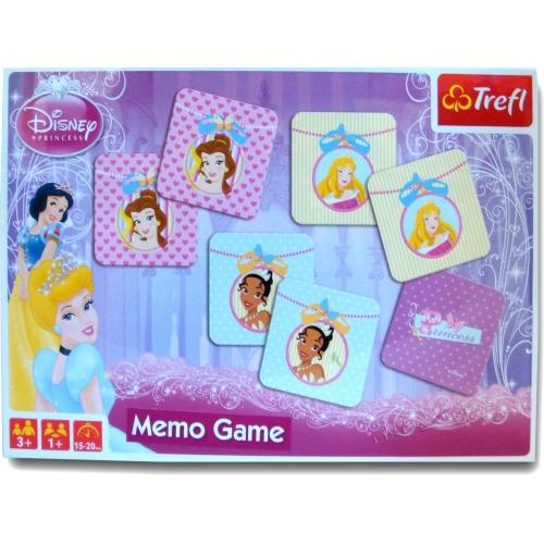 Disney Trefl Princess 'Memos' Board Game Puzzle