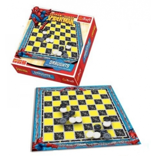 Spiderman 'Draughts' Board Game Puzzle