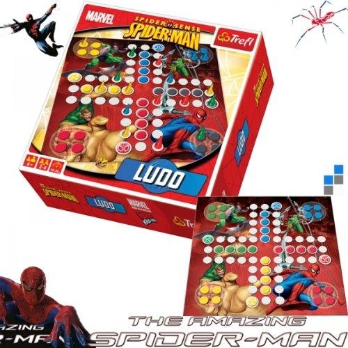 Spiderman 'Ludo' Board Game Puzzle