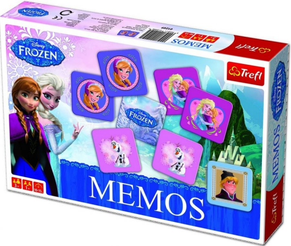 Disney Frozen Memos Board Game Puzzle