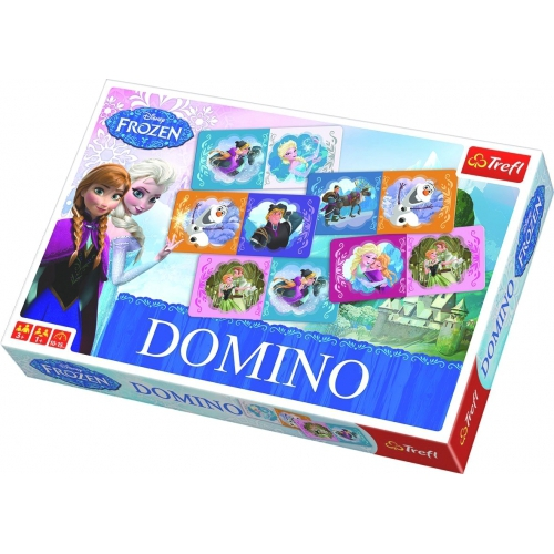 Disney Frozen 'Elsa & Anna' Domino Puzzle