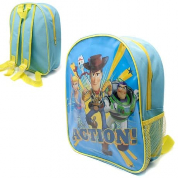 Toy Story with Mesh Side Pocket School Bag Rucksack Backpack
