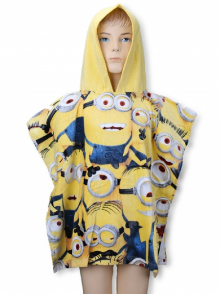 Despicable Me Minions 'Gang' Poncho Towel
