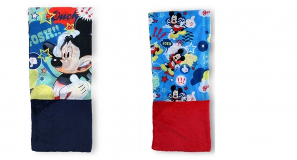 Disney Mickey Mouse 'Snood' Red, Blue Assorted Multi Purpose Scarf