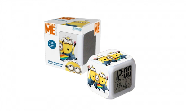 Minion Digital Alarm Clock