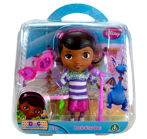 Disney Doc Mcstuffins Rock Star Action Figure Toy