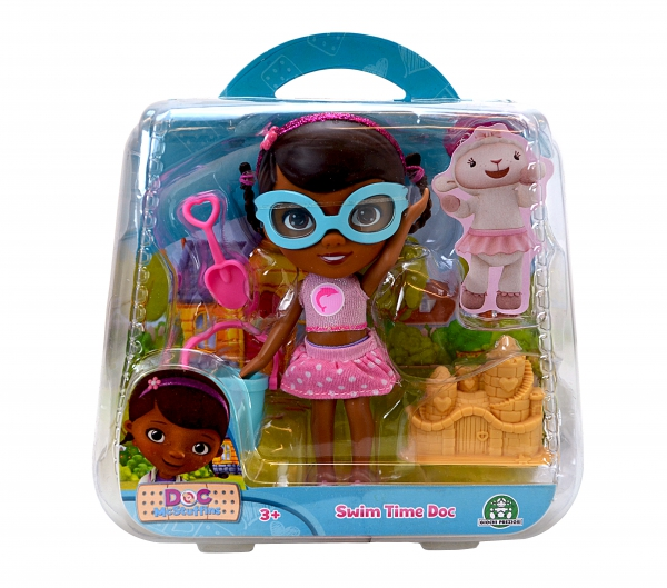 Disney Doc Mcstuffins Swim Time Action Figure Toy