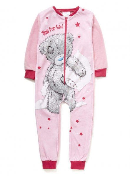 Girls Me To You Tatty Teddy Sleepsuit 7-8 Jumpsuit