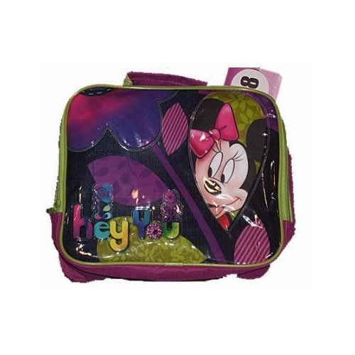 Disney Minnie Mouse - Hey You School Rectangle Lunch Bag
