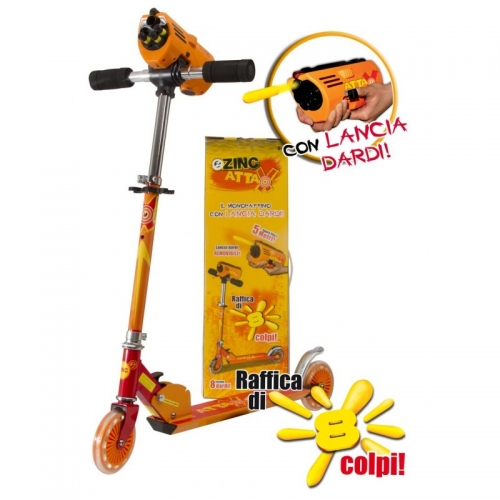 Zinc 'Attax' Scooter Toy