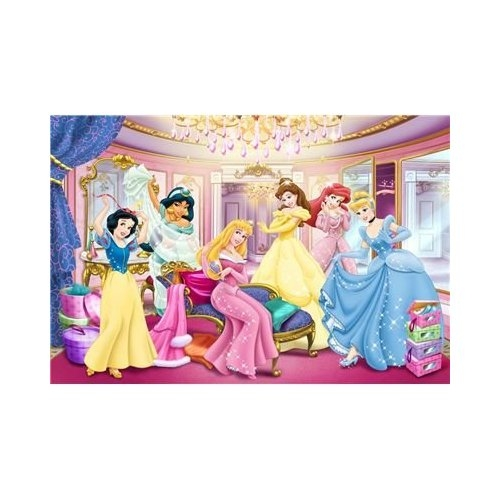 Disney Princess Super Colour 150 Piece Jigsaw Puzzle Game