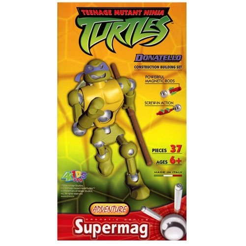 Supermag Teenage Mutant Ninja Turtles 'Donatello' 12.5 inch Construction Building Figure Toy