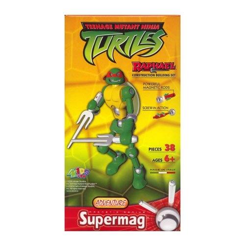 Supermag Teenage Mutant Ninja Turtles 'Raphael' 12.5 inch Construction Building Figure Toy
