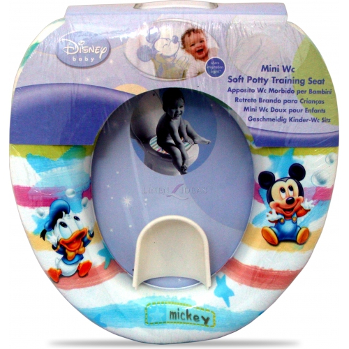 Disney Mickey Mouse Soft Potty Training Bath