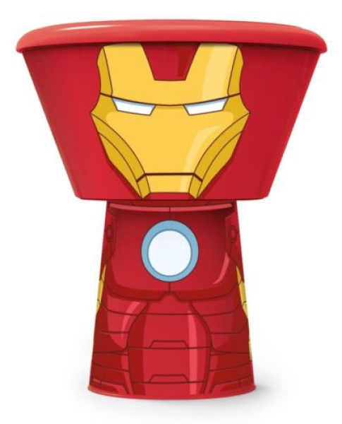 'Iron Man' Stacking 3 Piece Meal Set Dinner