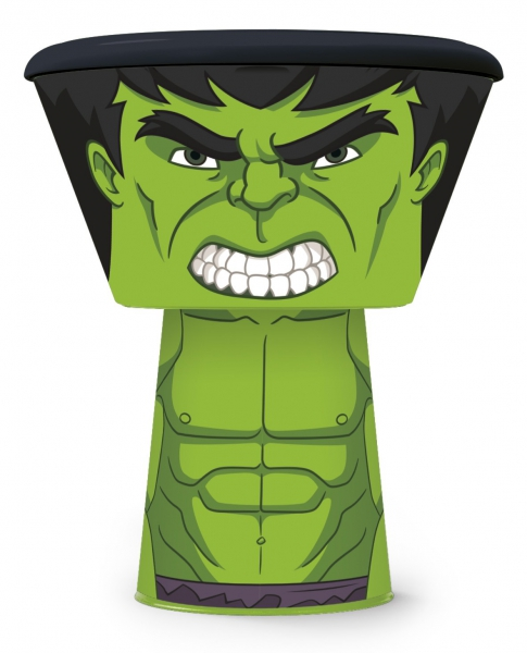 'Hulk' Stacking 3 Piece Meal Set Dinner