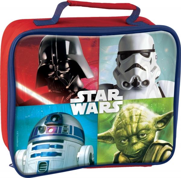 Disney Star Wars Rectangular Insulated School Premium Lunch Bag