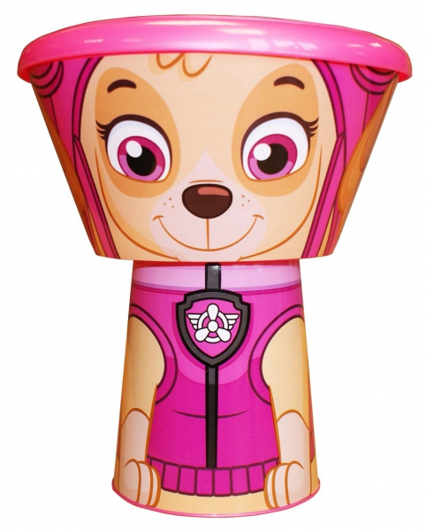 Paw Patrol 'Skye' Girls Stacking 3 Piece Meal Set Dinner