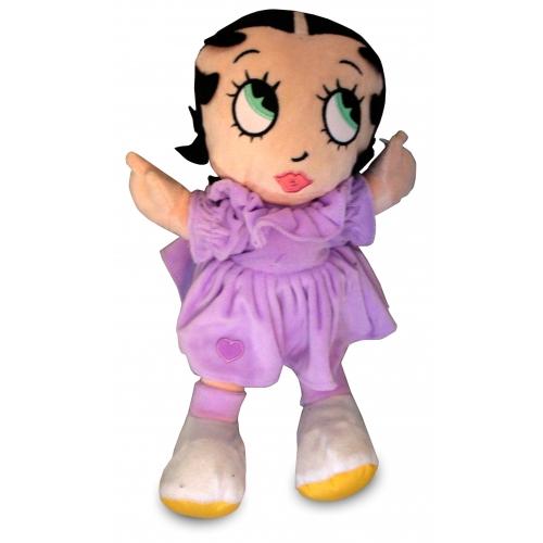 Betty Boop Lilac Dress 14inch Plush Soft Toy