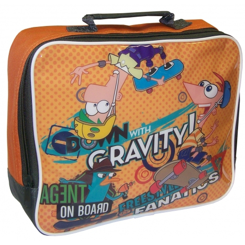 Phineas & Ferb 'Agent on Board' School Rectangle Lunch Bag