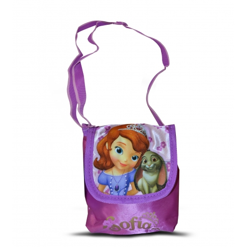 Disney Sofia The First Satin Small 'Lapel' School Shoulder Bag
