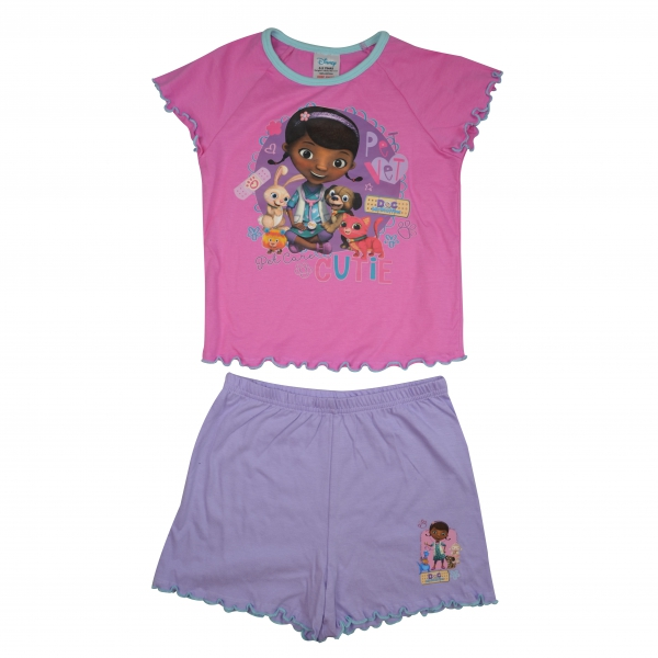 Disney Doc Mcstuffins 'Cutie' Short 3-4 Years Pyjama Set