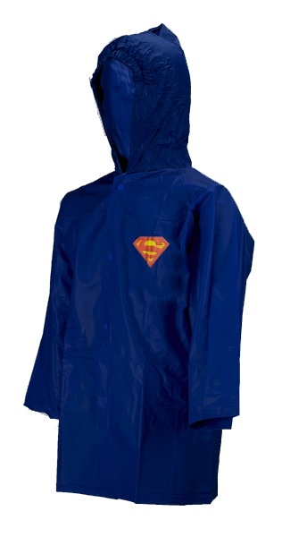 Superman Dark Blue 4 Year Raincoat