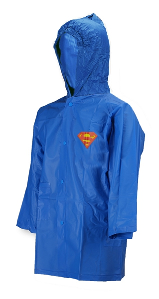 Superman Light Blue 4 Year Raincoat