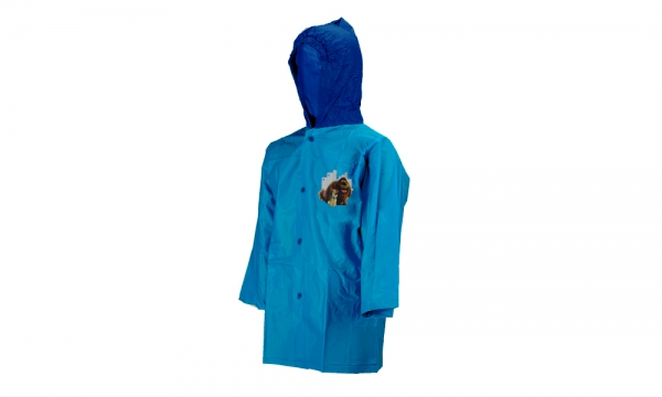 The Secret Life of Pets Light Blue 4 Year Raincoat