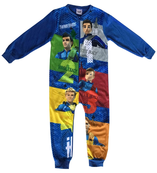 Thunderbirds 'Squad' Boys 5-6 Years Jumpsuit