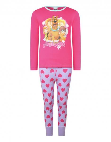 Scooby Doo Girls Pyjama Set 9 10 Years