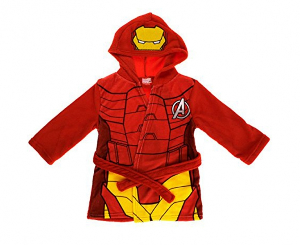 Avengers Hero 'Iron Man' Dressing Gown 6 7 Years