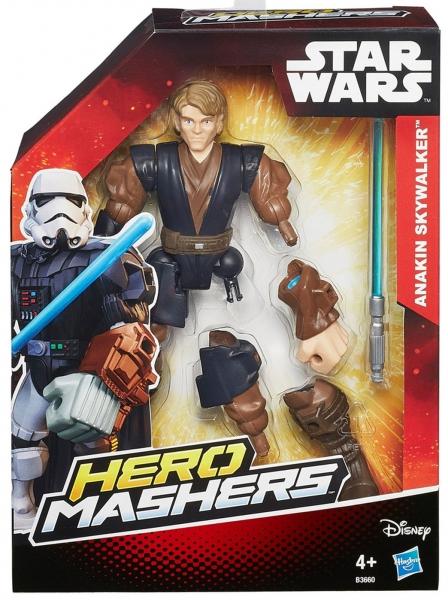 Disney Star Wars 'Anakin Skywalker' Hero Mashers 6 inch Figure Toy
