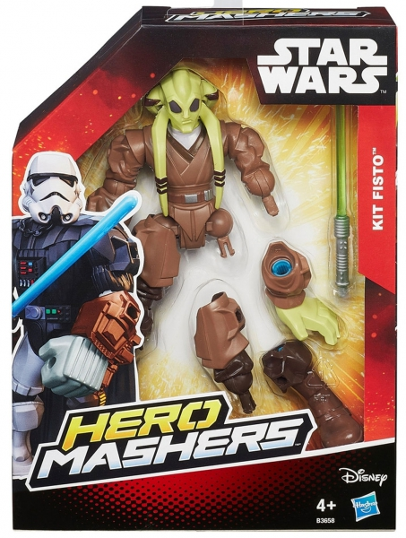 Disney Star Wars 'Kit Fisto' Hero Mashers 6 inch Figure Toy