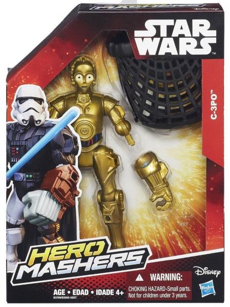 Disney Star Wars 'C-3po' Hero Mashers 6 inch Figure Toy
