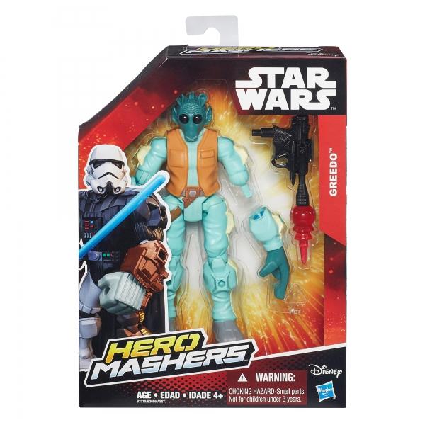 Disney Star Wars 'Greedo' Hero Mashers 6 inch Figure Toy