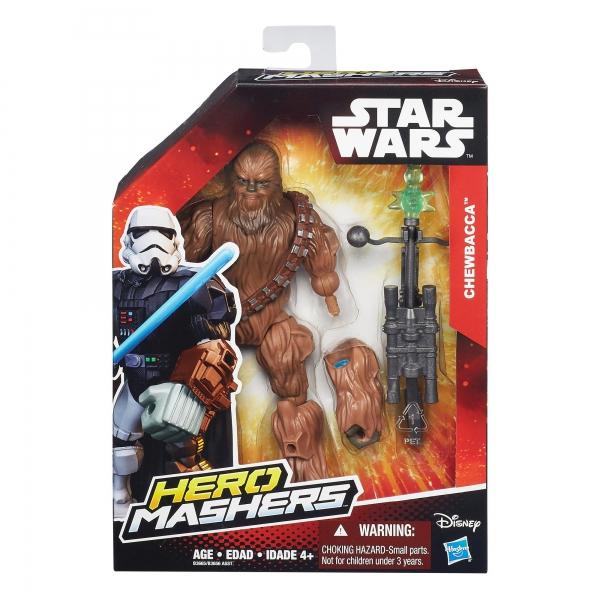 Disney Star Wars 'Chewbacca' Hero Mashers 6 inch Figure Toy